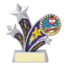 Shooting star swimming trophy